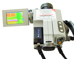 Wärmebildkamera Infratec Vario Cam freigestellt